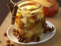 Apfel-Rosinen-Marmelade