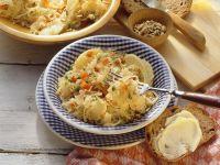 Apfel-Sauerkraut-Salat Rezept