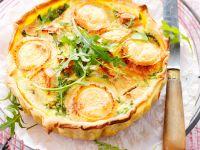 Apfel-Ziegenkäse-Kuchen Rezept