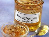 Apfelgelee mit Thymian Rezept