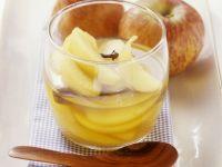 Apfelkompott mit Calvados Rezept