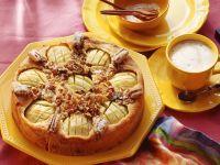 Apfelkuchen mit Pecannüssen Rezept