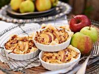 Apfelkuchen mit Speck und Zwiebeln