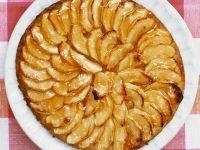 Apfelkuchen nach normannischer Art