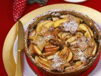 Apfelkuchen zu Weihnachten Rezept