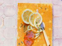 Apfelmarmelade mit Zitrone und Thymian Rezept
