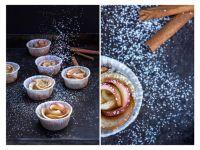 Apfelrosen-Muffins selber machen
