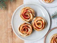 Apfelrosentörtchen Rezept