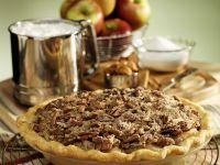 Apple Pie mit Pecannüssen