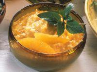 Aprikosen-Fruchtaufstrich mit Orangen