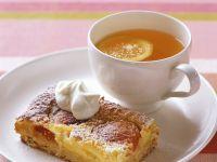 Aprikosen-Käseschnitte Rezept