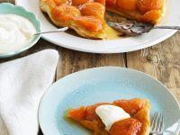 Aprikosen-Karamell-Tarte Rezept