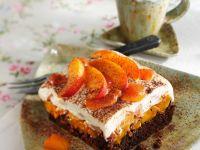 Aprikosen-Schoko-Kuchen Rezept
