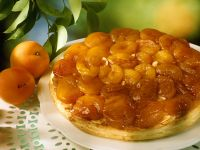 Aprikosen-Tarte tatin
