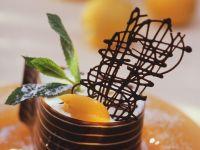 Aprikosencreme im Schokomantel Rezept
