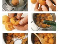 Aprikosenkompott zubereiten Rezept