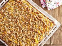 Aprikosenkuchen mit Streuseln Rezept
