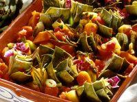 Artischocken-Kartoffel-Gemüse mit Möhren aus dem Ofen Rezept