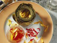 Artischocken mit Vinaigrette Rezept