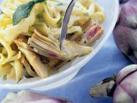 Artischocken-Pasta Rezept