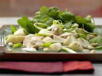Asia-Spinatsalat mit Hähnchenfilet Rezept