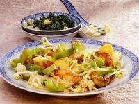 Asiatische gebratene Putenstreifen mit Gemüse Rezept