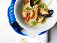 Asiatische Muschelsuppe Rezept