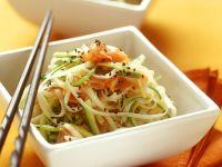Asiatischer Nudelsalat mit Lachs Rezept