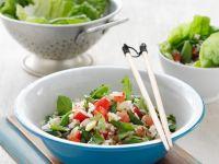 Asiatischer Reissalat Rezept