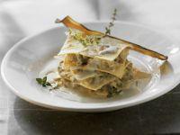 Auberginen-Lasagne mit Gorgonzola Rezept