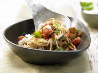 Auberginen-Spaghetti Rezept