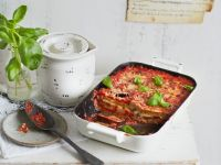 Auberginen-Tomaten-Auflauf