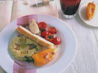 Auberginenmus mit Paprika Rezept