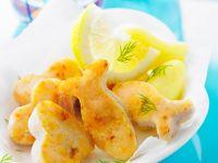 Ausgestochene Fischfilets für Kinder Rezept
