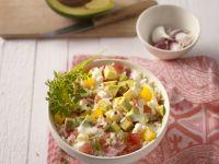 Avacado-Reis-Salat Rezept