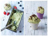 Avocado-Eis selber machen – mit Schokolade und Minze