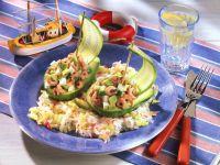 Avocado-Schiffchen Rezept