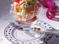Avocado-Shrimps-Cocktail in Grapefruithälften Rezept
