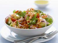 Avocado-Shrimpssalat Rezept