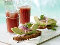 gebratener avocado toast rezept eat smarter. Black Bedroom Furniture Sets. Home Design Ideas