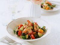 Avocado-Tomatensalat mit Shrimps Rezept