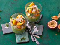 Avocadocreme mit Mango Rezept