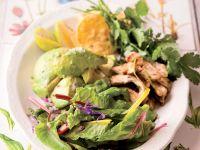 Avocadosalat mit Hähnchen Rezept