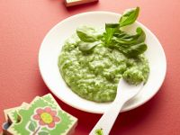 Babybrei aus grünem Gemüse Rezept