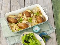 Backkartoffeln mit Fenchel Rezept