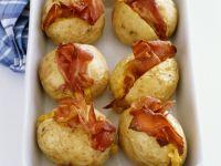 Backkartoffeln mit Mais-Bacon-Füllung Rezept