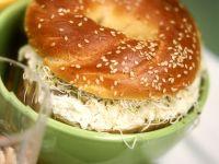 Bagel mit Frischkäsecreme Rezept