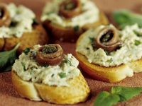 Baguette mit Auberginencreme Rezept