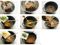 Baked-Bean-Soup (Bohnensuppe) zubereiten Rezept