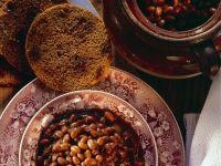 Baked Beans mit Brot Rezept